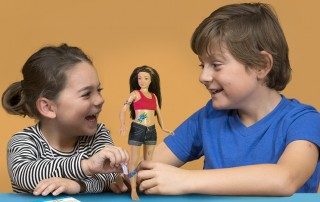 jucării educative - papusa Lammily